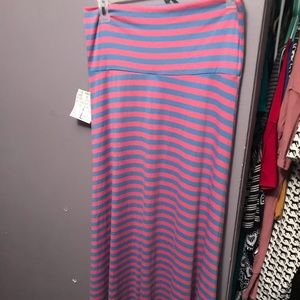 Lularoe L Maxi skirt